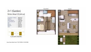 Kocaeli Wohnungen mit Meerblick in einem Komplex mit Pools, Immobilienplaene-2