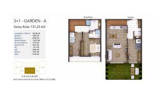 Kocaeli Wohnungen mit Meerblick in einem Komplex mit Pools, Immobilienplaene-6