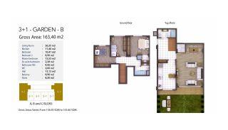 Kocaeli Wohnungen mit Meerblick in einem Komplex mit Pools, Immobilienplaene-7