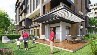 Luxe appartementen verweven met de natuur in Kocaeli, Kocaeli / Basiskele - video