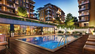 Luxe appartementen verweven met de natuur in Kocaeli, Kocaeli / Basiskele