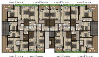 Роскошные Квартиры в Коджаэли на Лоне Природы, Планировка -7