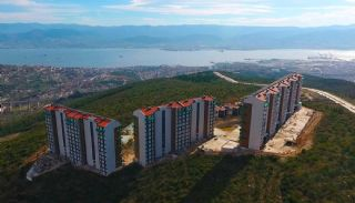 Sea View Villas in a Complex with Private Pools in Kocaeli, Construction Photos-3