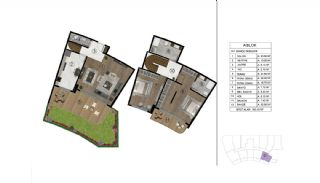 Properties in a Complex with Rich Facilities in Kocaeli, Property Plans-2