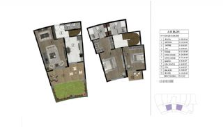 Properties in a Complex with Rich Facilities in Kocaeli, Property Plans-5