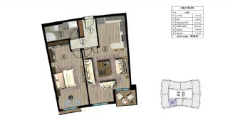 Luxurious Design Flats Surrounded by Nature in Kocaeli, Property Plans-2