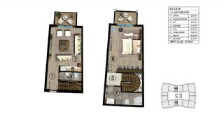 Luxurious Design Flats Surrounded by Nature in Kocaeli, Property Plans-15