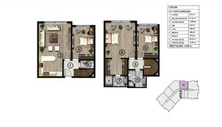 Spacious Modern Apartments Intertwined by Nature in Kocaeli, Property Plans-3