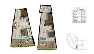 Роскошная Недвижимость в Хорошем Месте в Картепе, Коджаэли, Планировка -1