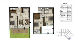 Роскошная Недвижимость в Хорошем Месте в Картепе, Коджаэли, Планировка -3