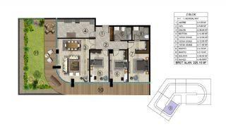 Роскошная Недвижимость в Хорошем Месте в Картепе, Коджаэли, Планировка -6
