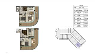 Роскошная Недвижимость в Хорошем Месте в Картепе, Коджаэли, Планировка -13