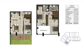 Роскошная Недвижимость в Хорошем Месте в Картепе, Коджаэли, Планировка -21