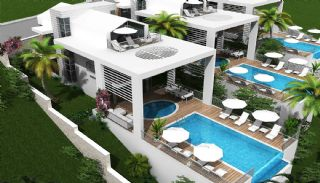 High-Quality Detached Villas with Infinity Pool in Kalkan, Kas / Kalkan / Center - video