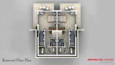 Sericum Villa's, Vloer Plannen-1