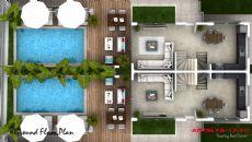 Sericum Villa's, Vloer Plannen-3