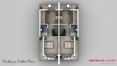 Sericum Villa's, Vloer Plannen-5
