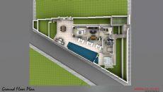 Villa Ocean, Kat Planları-1