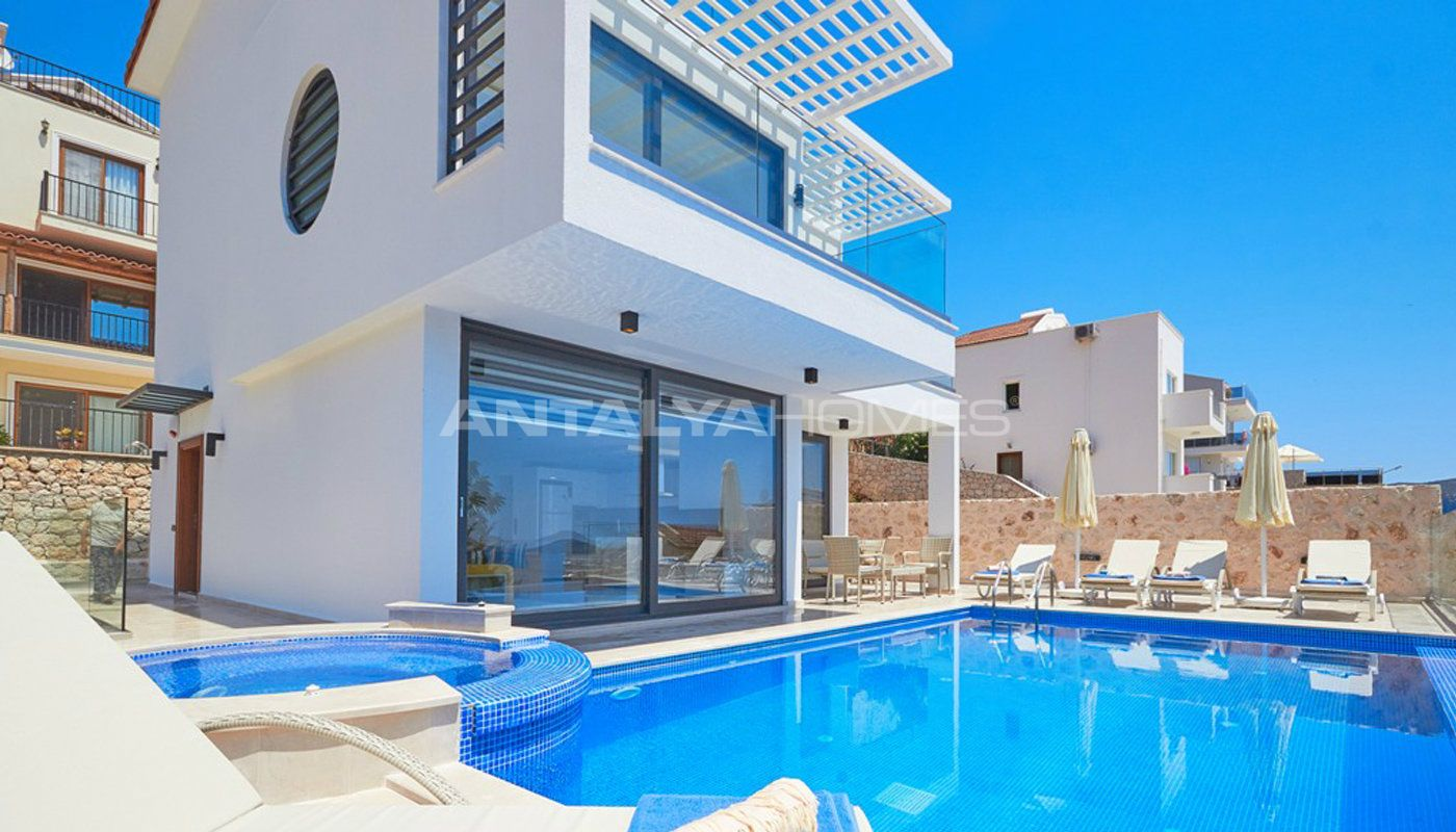 Kalkan 39 da sat l k mobilyal l ks villa - Villa de luxe visite privee ...