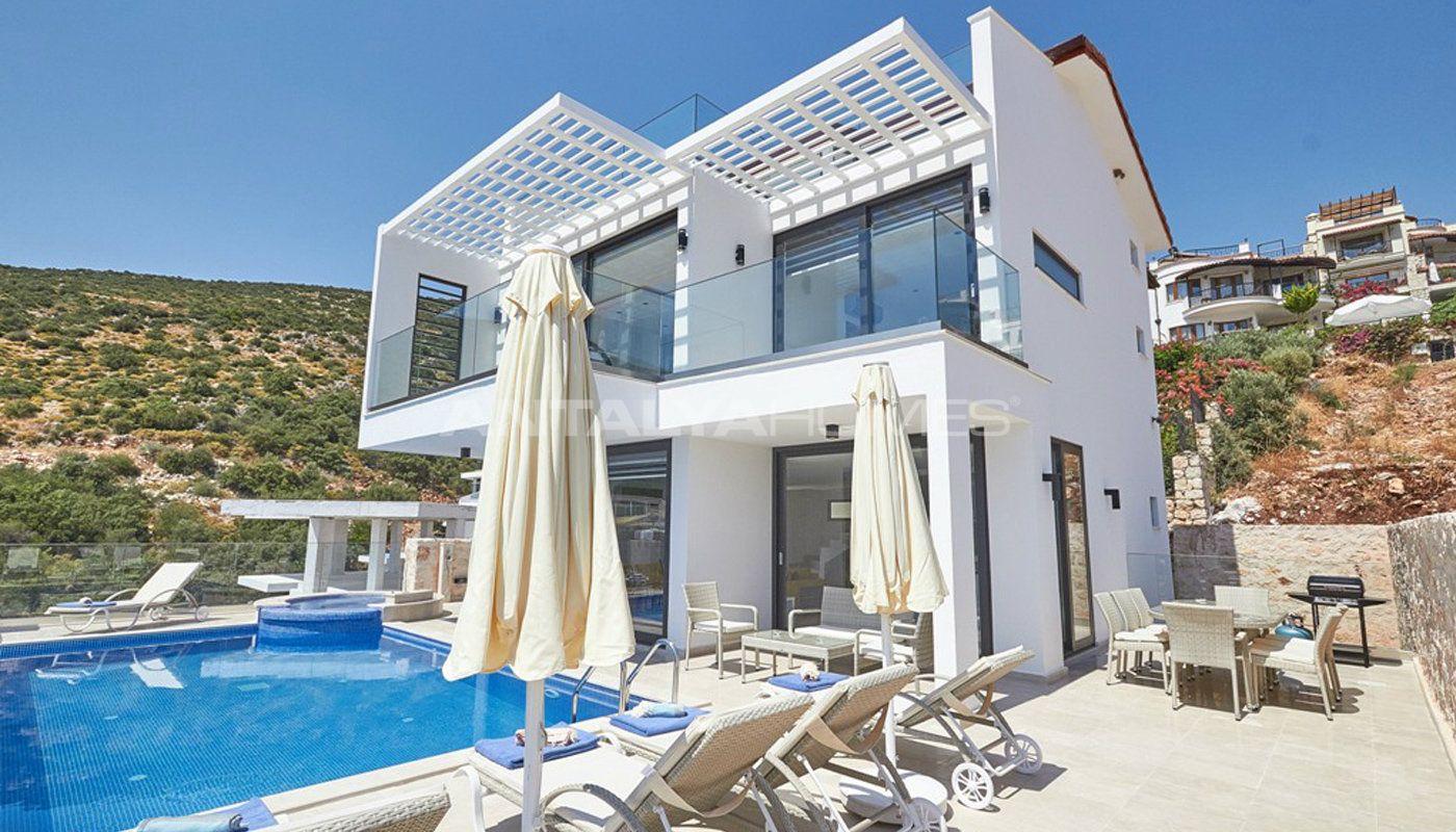 Villa de luxe meubl e vendre kalkan for A vendre villa de luxe
