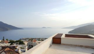 Panoramic Sea View Houses with Private Pool in Kalkan, Interior Photos-13