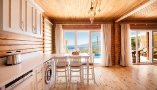 Unique Designed Wooden Villas with Furniture in Kalkan, Interior Photos-9