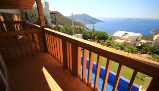Unique Designed Wooden Villas with Furniture in Kalkan, Interior Photos-21