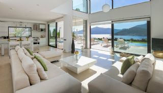 Furnished Kalkan Real Estate with Private Infinity Pool, Interior Photos-1