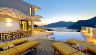 Дом для Отдыха с Панорамным Видом на Море в Калкане, Турция, Каш / Калкан / Центр