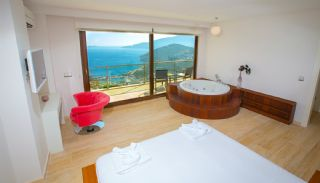Villas de 5 Chambres Meublées et Abritées à Kalkan, Photo Interieur-6