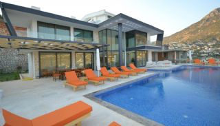 Villa Vue Sur Mer à Kalkan avec Meubles Contemporains, Kalkan / Centre