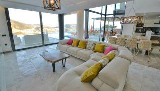 Kalkan Ortaalan Mevkiinde Deniz Manzaralı Eşyalı Villa, İç Fotoğraflar-1