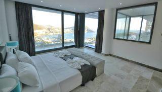 Kalkan Ortaalan Mevkiinde Deniz Manzaralı Eşyalı Villa, İç Fotoğraflar-14