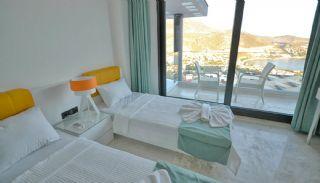 Kalkan Ortaalan Mevkiinde Deniz Manzaralı Eşyalı Villa, İç Fotoğraflar-16