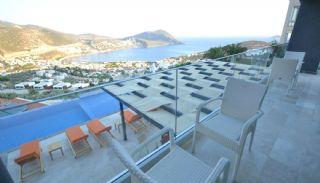 Kalkan Ortaalan Mevkiinde Deniz Manzaralı Eşyalı Villa, İç Fotoğraflar-21