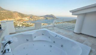Kalkan Ortaalan Mevkiinde Deniz Manzaralı Eşyalı Villa, İç Fotoğraflar-22