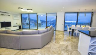 Ready Kalkan Villa Designed with Eye-Catching Architecture, Interior Photos-5