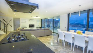 Ready Kalkan Villa Designed with Eye-Catching Architecture, Interior Photos-6