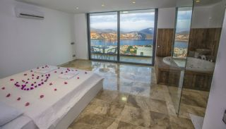Ready Kalkan Villa Designed with Eye-Catching Architecture, Interior Photos-8