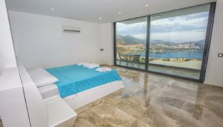 Ready Kalkan Villa Designed with Eye-Catching Architecture, Interior Photos-11