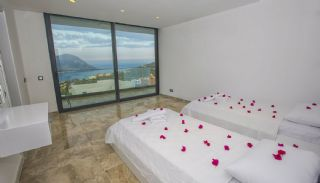 Ready Kalkan Villa Designed with Eye-Catching Architecture, Interior Photos-13