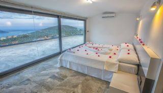 Ready Kalkan Villa Designed with Eye-Catching Architecture, Interior Photos-17