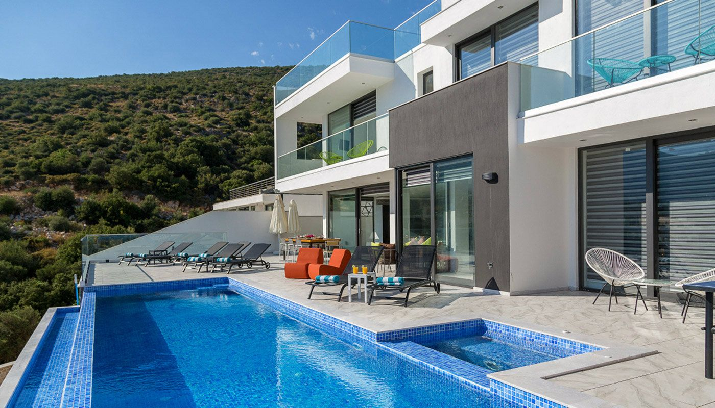 Moderne maisonette villa in kalkan f r luxus leben - Villa de vacances exotiques island views ...