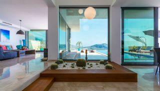 4+1 Sheltered Kalkan Villa Overlooking Bay and Islands, Interior Photos-2