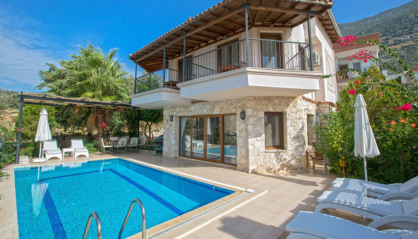 Furnished Kalkan House In Turkey With Private Pool