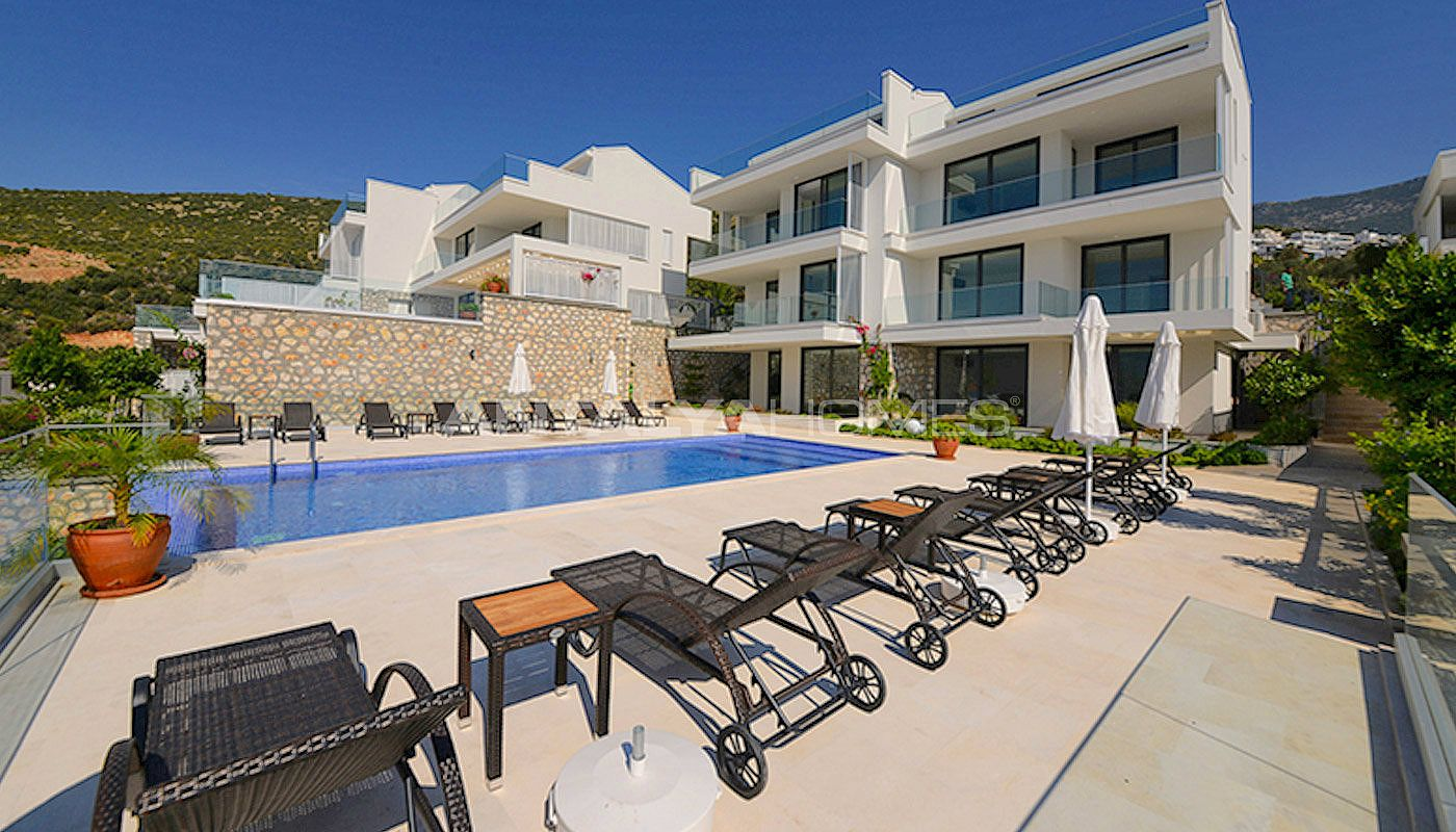 Ready To Move Houses In A Desirable Region Of Kalkan