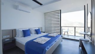 4 Bedroom Holiday Villas Overlooking the Sea in Kalkan, Interior Photos-9