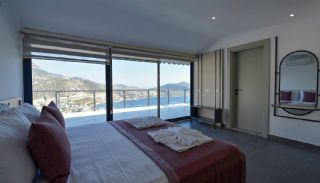 4 Bedroom Holiday Villas Overlooking the Sea in Kalkan, Interior Photos-13
