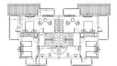 Виллы в Кемере III, Планировка -1