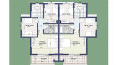 Kemer Villaları II, Kat Planları-1